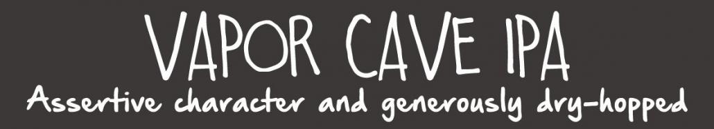 vapor cave ipa magnet for beer menu
