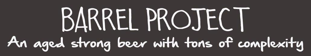 barrel project magnet for beer menu