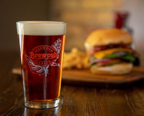 St. James Irish Red Ale + Canyon Burger